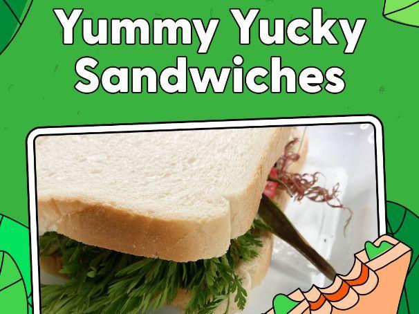 Activity - Yummy Yucky Sandwiches