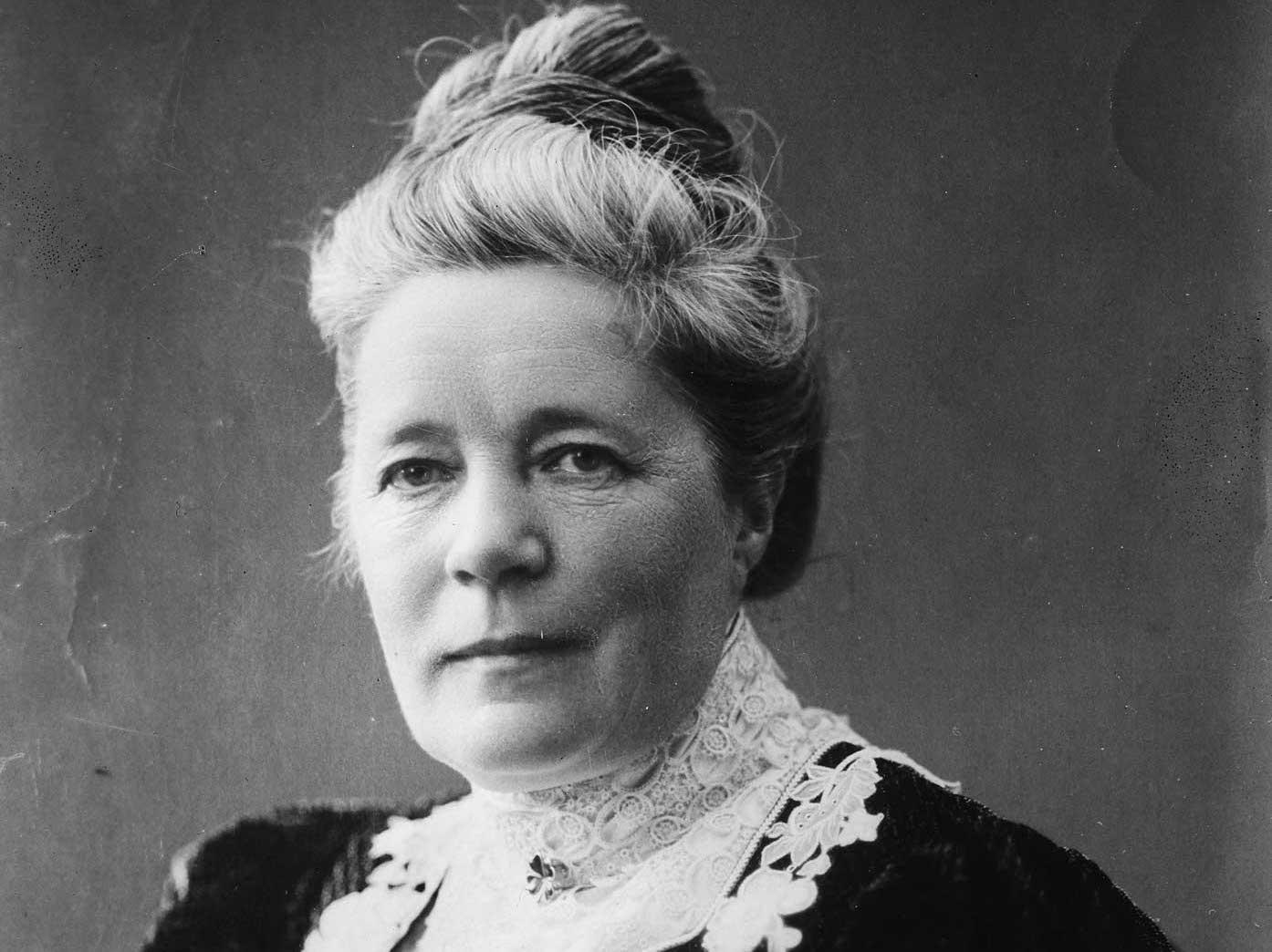 Selma Lagerlöfs tal 1909