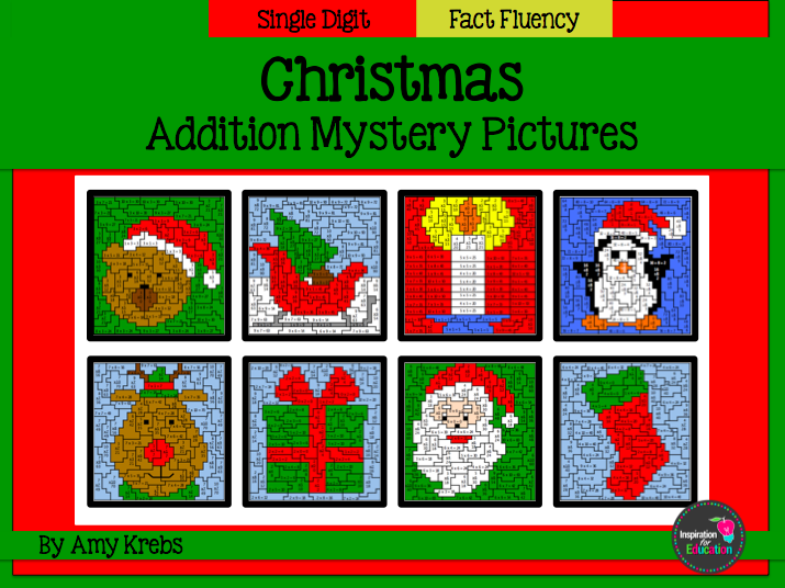 Christmas Addition Mystery Pictures