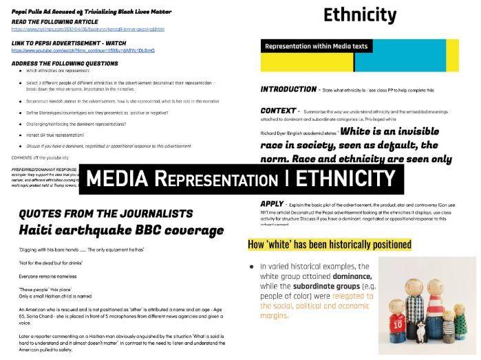 REPRESENTATION | Ethnicity