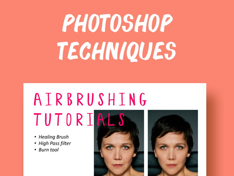 Photoshop Techniques: 3 Ways to Airbrush Your Photos