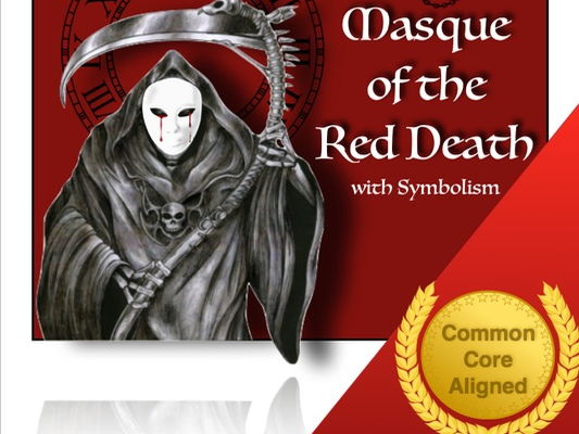 a literary analysis of the masque of red death