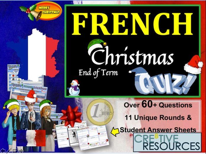 French MFL Christmas Quiz 2019
