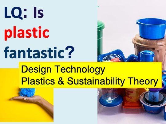 Plastics Polymers Design Technology Theory