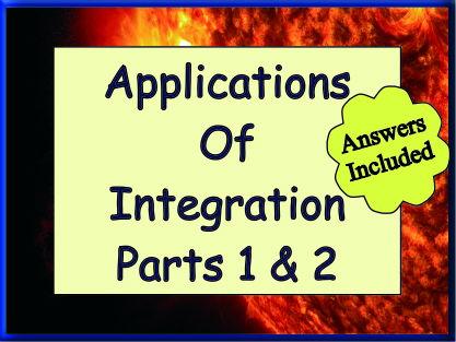 Applications Of Integration 1 & 2