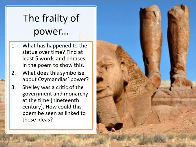 New AQA English Literature Poetry - Power and Conflict ...
