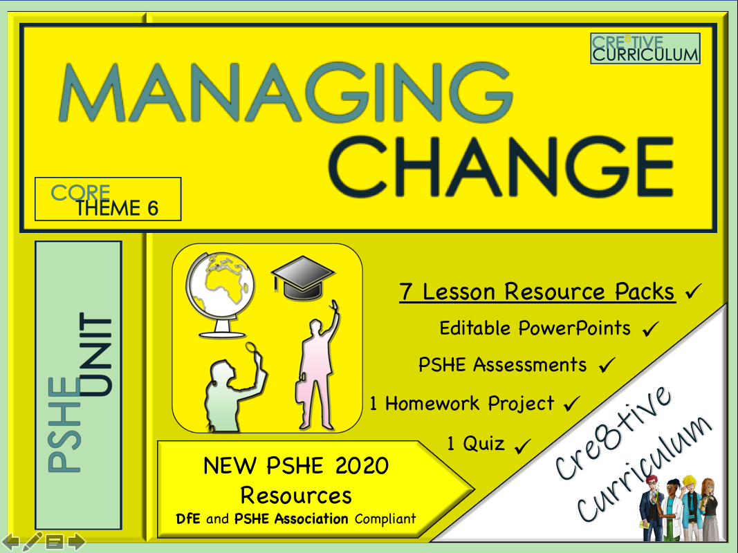 Managing Change PSHE + Careers Unit