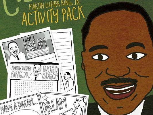 Celebrating MLK – Martin Luther King, Jr. Activity Pack