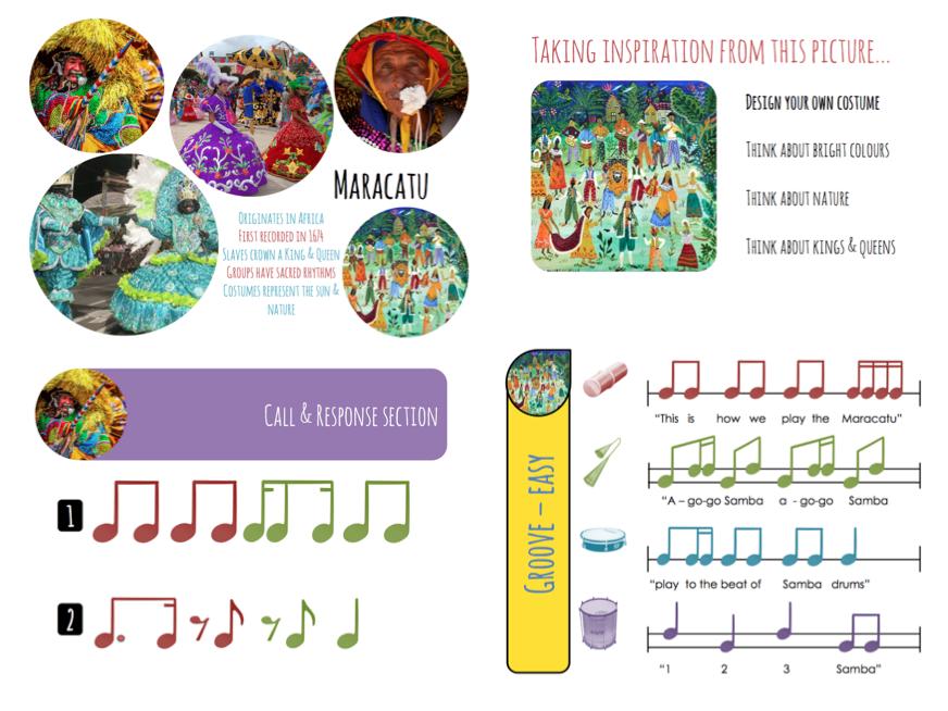 SAMBA | Maracatu (4 Lessons, with differentiated rhythms)