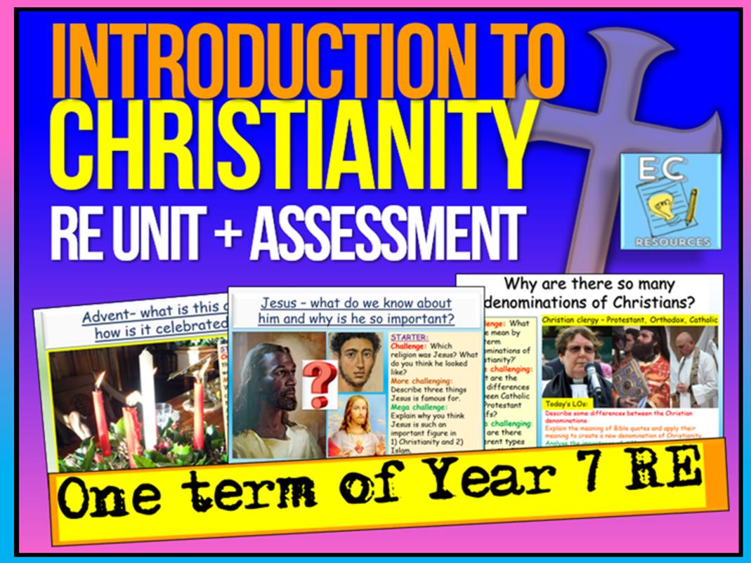 Year 7 Christianity