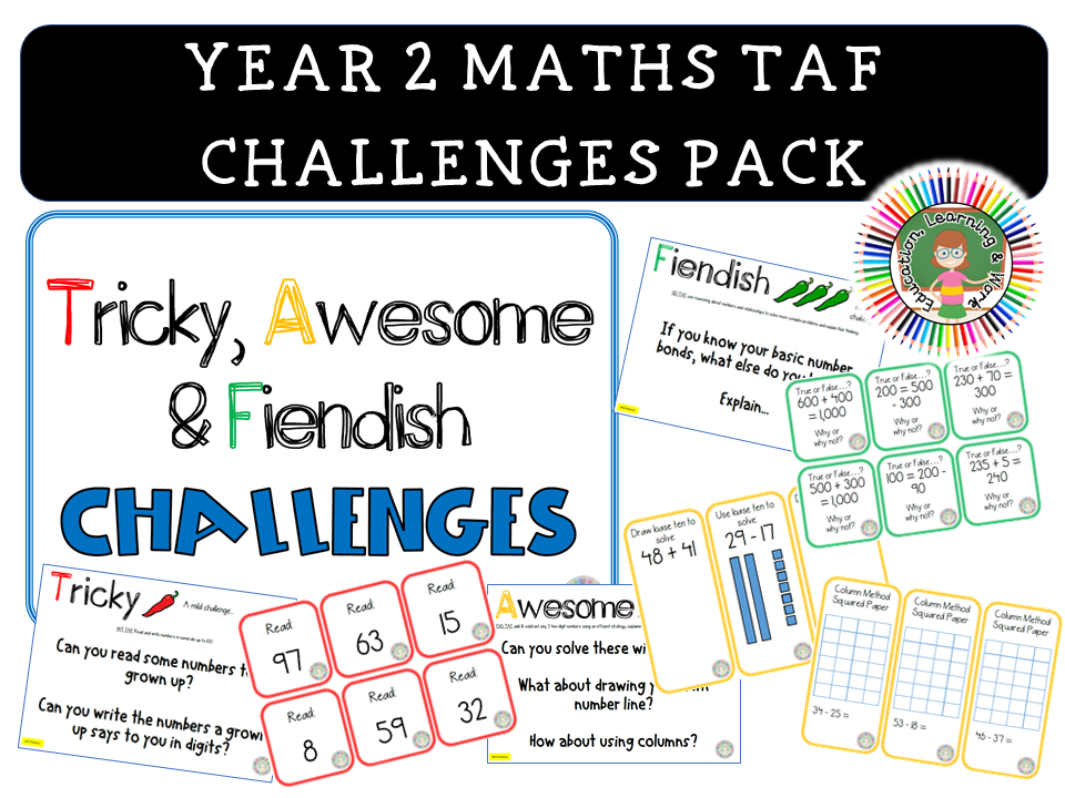 Maths TAF Challenges Year 2