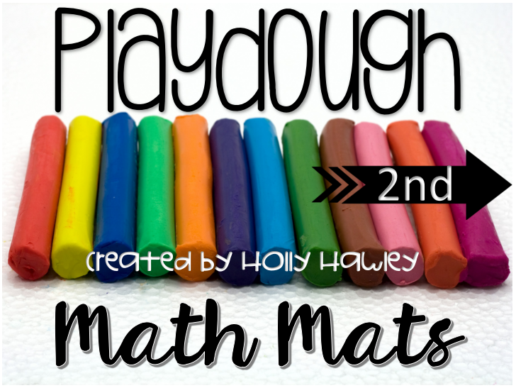 Playdough Math Mats