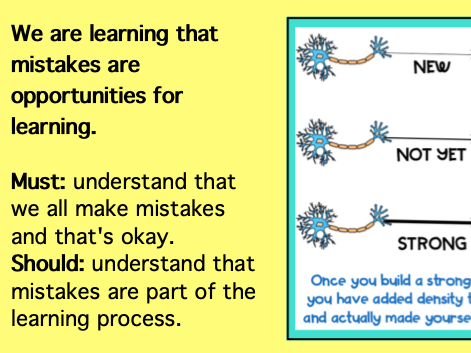 Growth Mindset: Mistakes (Austin's Butterfly)