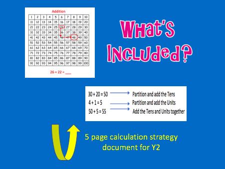 Year 2 Maths Calculation Strategies