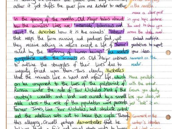 Animal Farm English Literature GCSE Grade 9-1