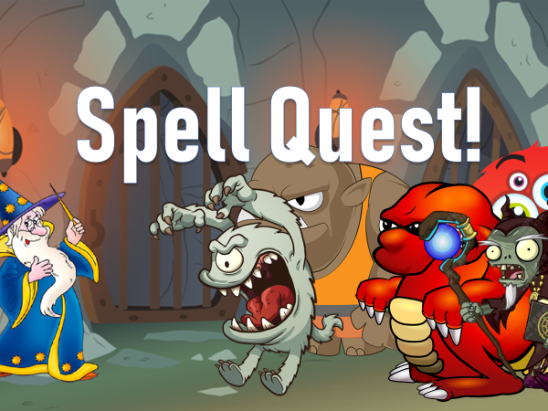 Spell Quest - making spelling fun