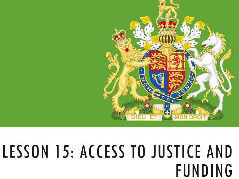 ELS - Access to justice and funding
