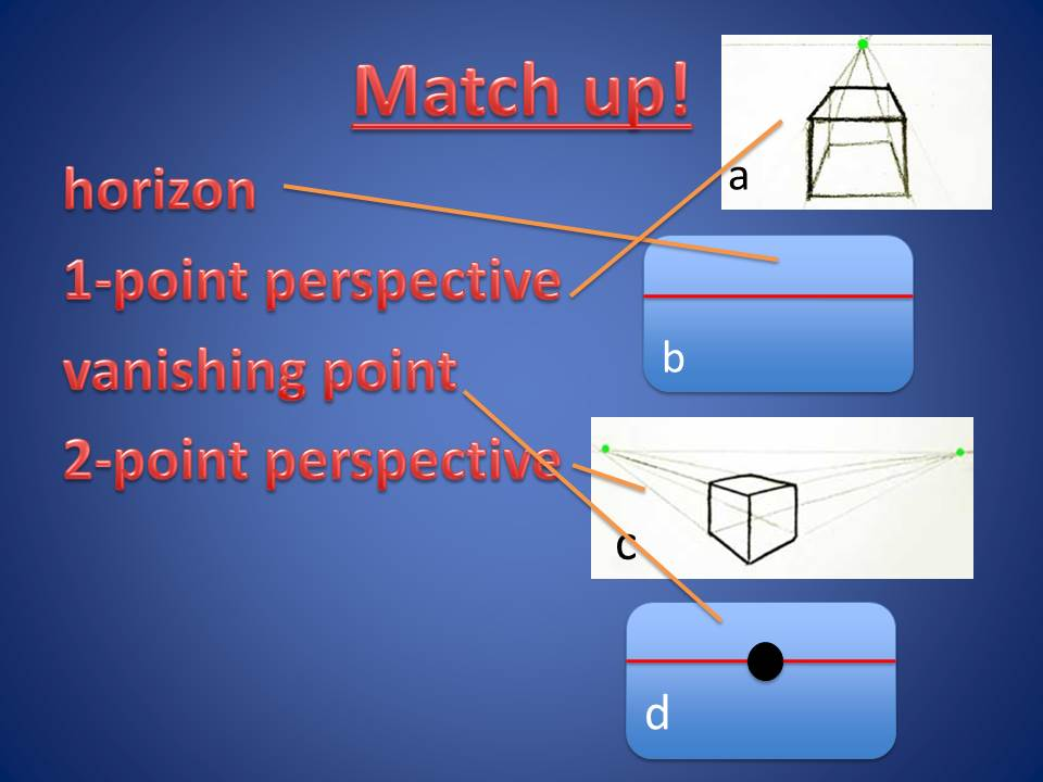 Perspective Drawing 1 & 2-point Art