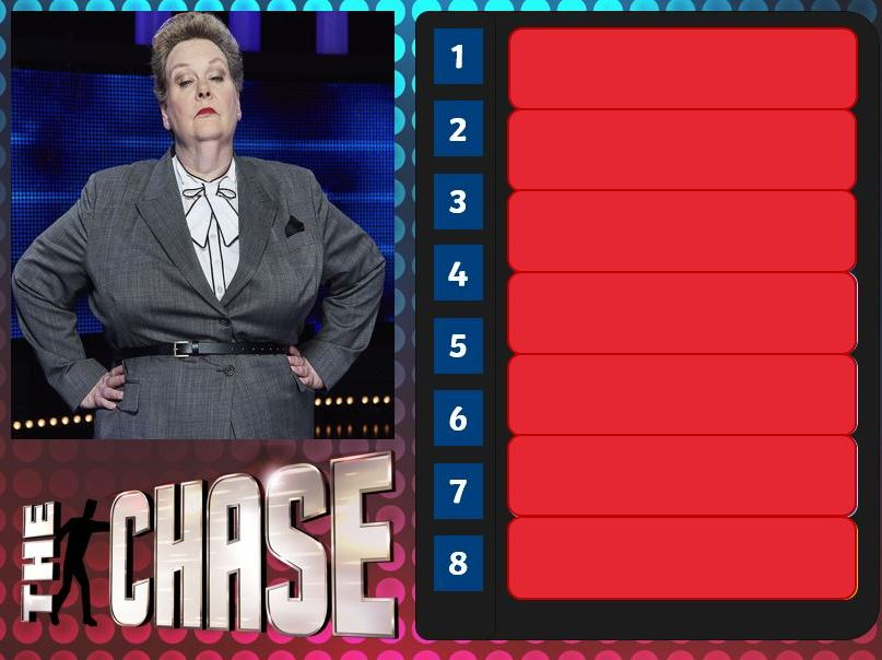 The Chase - Game template