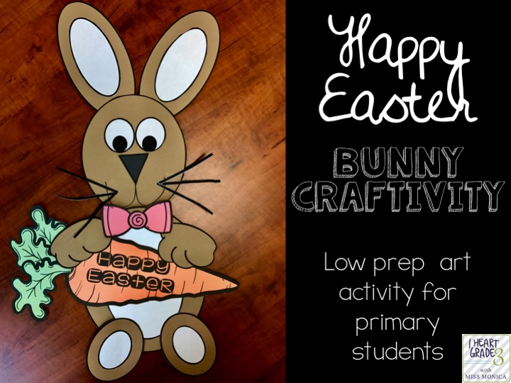 Bunny Art Craftivity