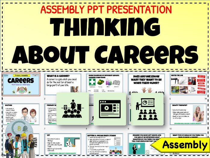 Careers Assembly - Secondary Students