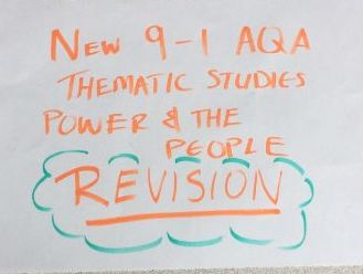 New 9-1  AQA Power and the People complete revision resource