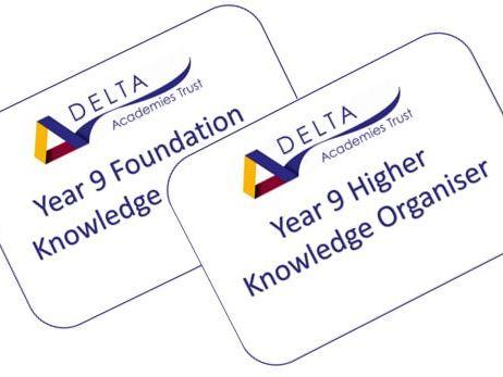 Y9 Knowledge Organiser
