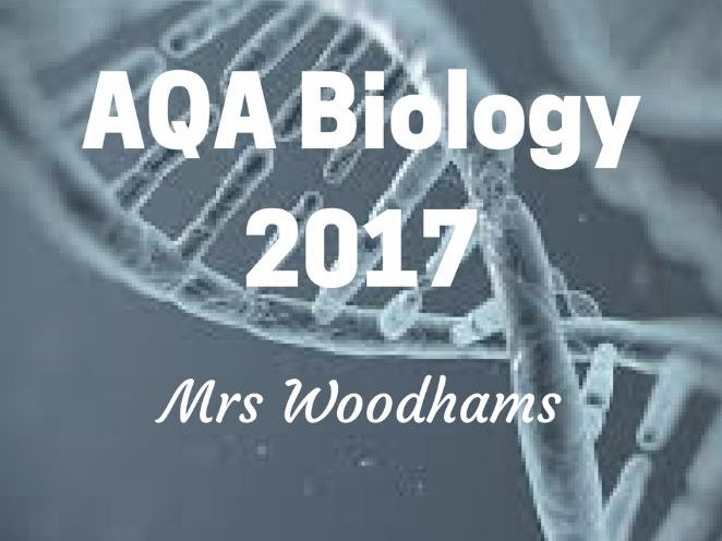 NEW AQA Biology 2017 - B1 Cell Structure and Transport