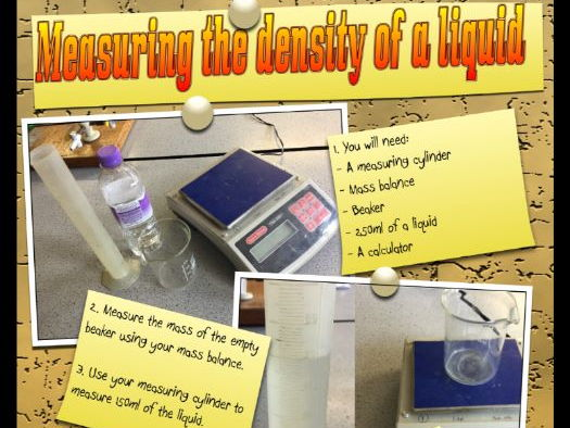 Measuring the Density of Liquid