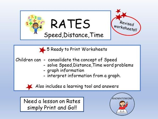 Speed,Distance,Time-MiddletoUpperPrimary