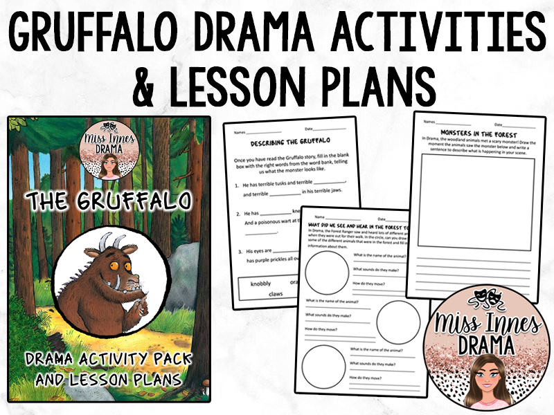 The Gruffalo - Drama Activities and Lesson Plans