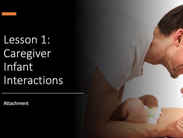 Caregiver-Infant Interactions, Attachment review