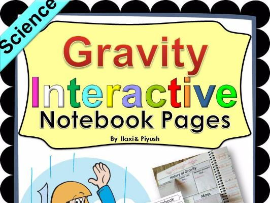 Gravity Interactive Notebook