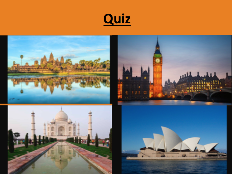 Travel and Tourism Quiz