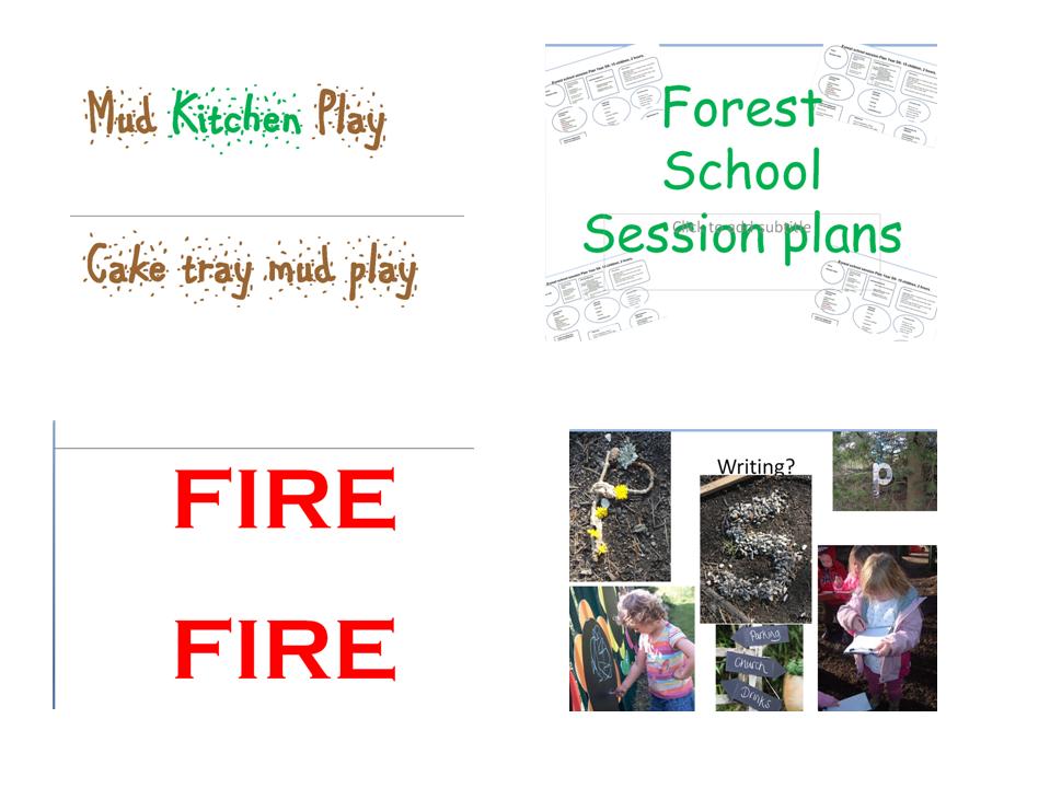 Forest school/ outdoor training/ parent information