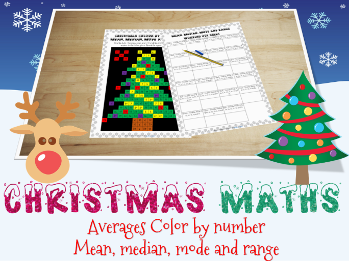 Christmas maths - Averages
