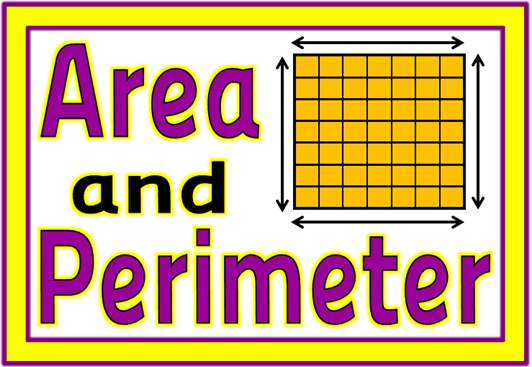 area and perimeter unit - worksheets and challenges - Y5