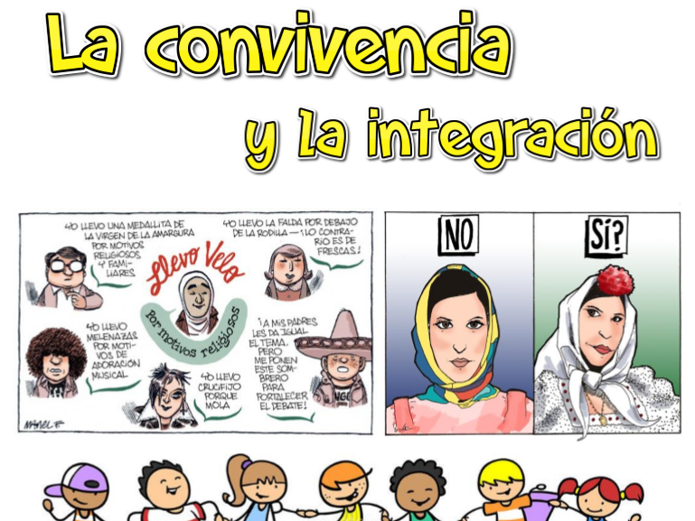La convivencia y la integración - Lista de vocabulario (new curriculum)