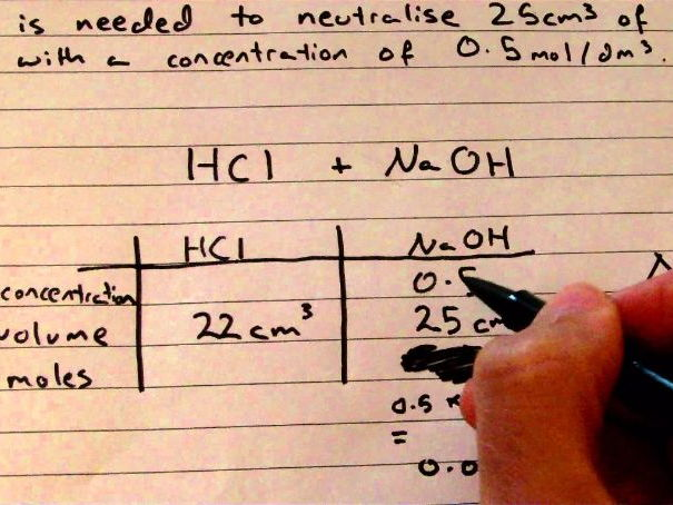 Titration Calculations - Video Walk through
