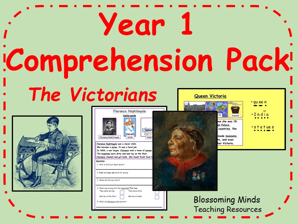Year 1 Reading Comprehension pack  - Victorians