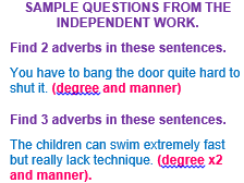 adverbs and fronted adverbs