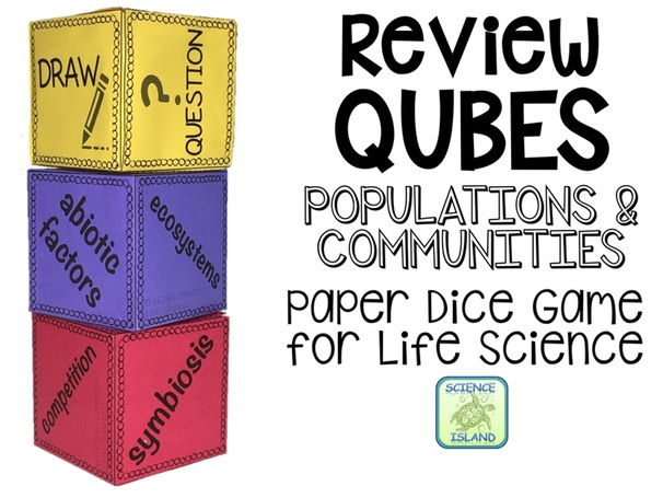 Populations & Communities Review Qubes for Life Science