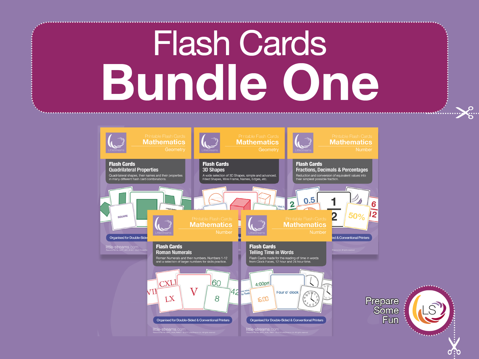 Flash Cards Bundle