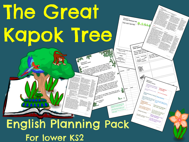 The Great Kapok Tree Planning (Rainforest Topic)
