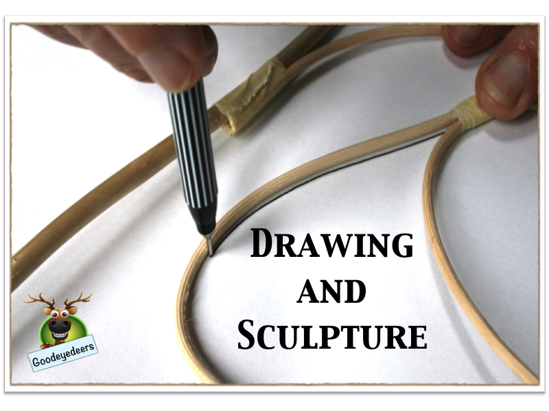 Three Drawing and Sculpture Projects
