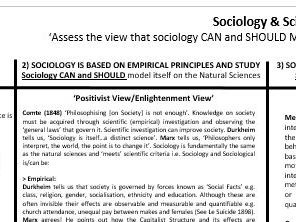 Sociology & Science