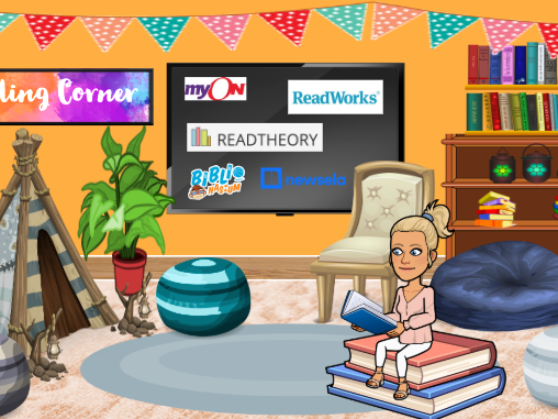 Bitmoji Virtual Classroom - Reading