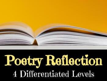 Poetry Reflection **FREEBIE**