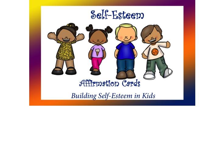Self-Esteem Affirmation Cards Bundle