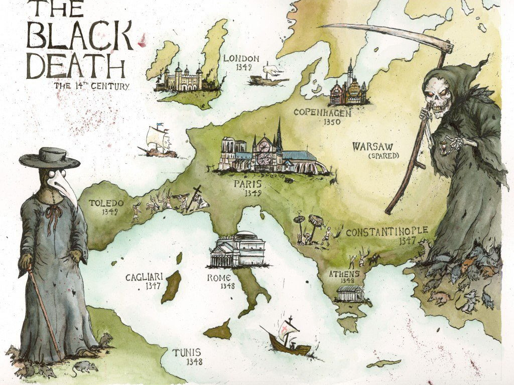 The Black Death - Aftermath